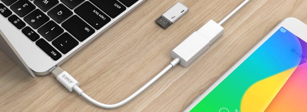 کابل OTG Type-C USB3.0