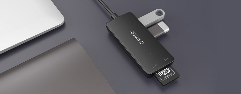 Hub & Card Reader USB 3.0