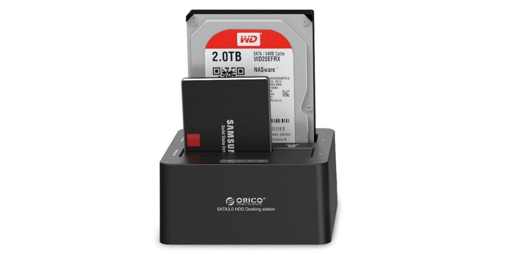 داک هارد 2.5 و 3.5 اینچ ORICO 6629S3 2 Bay