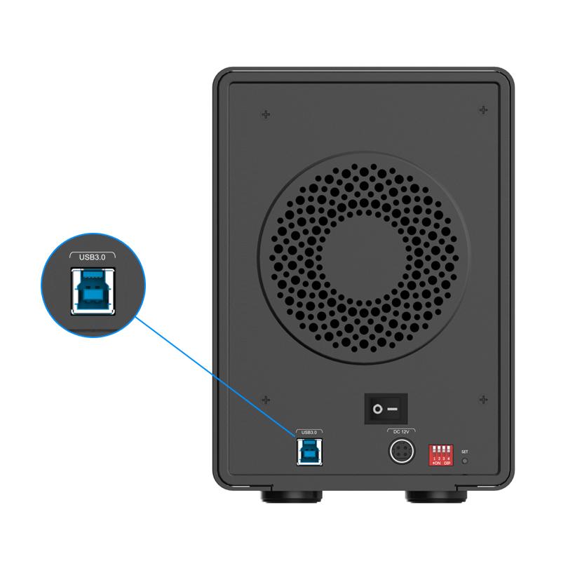 تجهیزات ذخیره سازی ORICO 9558RU3 5Bay