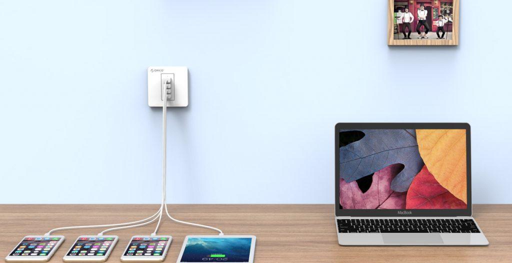 پریز شارژ USB