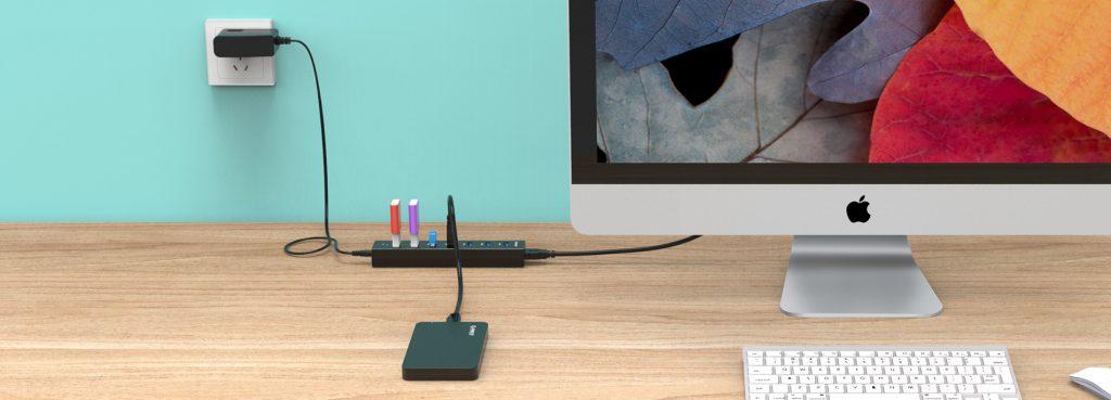 هاب 7 پورت USB 3.0 مدل ORICO H7013-U3-V1