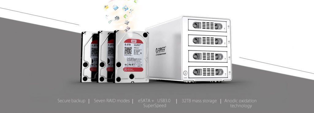 تجهیزات ذخیره سازی ORICO 3549RUS3 4Bay