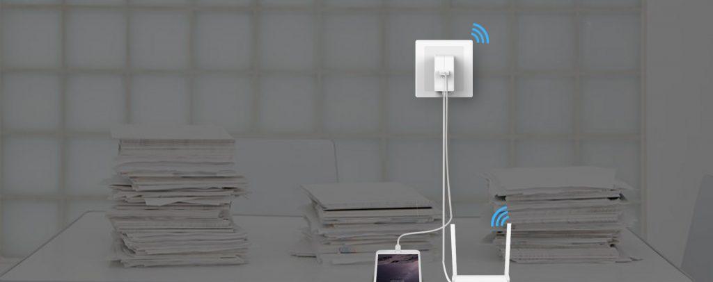 تقویت کننده سیگنال وایرلس با پورت شارژ اوریکو