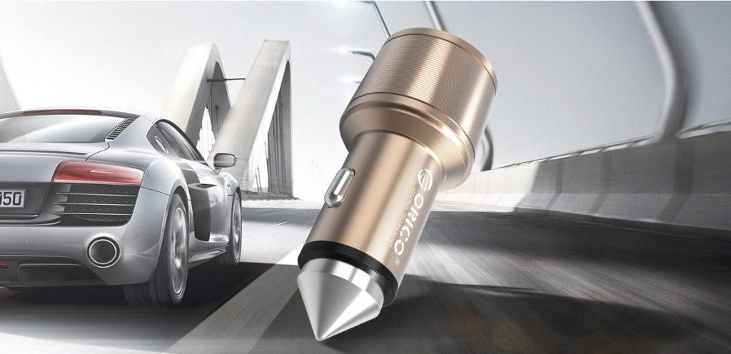 شارژر فندکی آلومینیومی ORICO UCI-2U