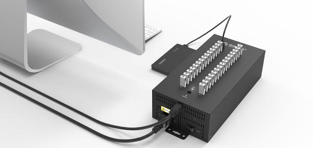 هاب صنعتی USB
