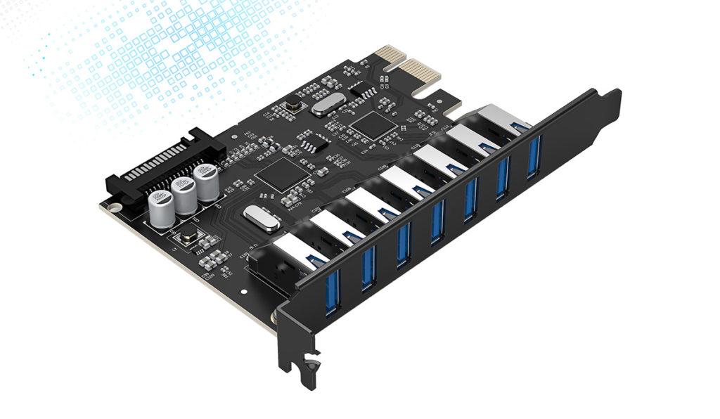 کارت افزایش USB PCI-E