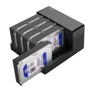 کپی کننده SSD و هارد ۲.۵ و ۳.۵ اینچ ORICO 6558US3-C