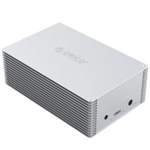 ذخیره ساز ۲Bay آلومینیومی USB3.0 مدل ORICO DY352U3