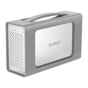 ذخیره ساز ۲Bay با Raid و محافظ سیلیکونی ORICO RS200RC3
