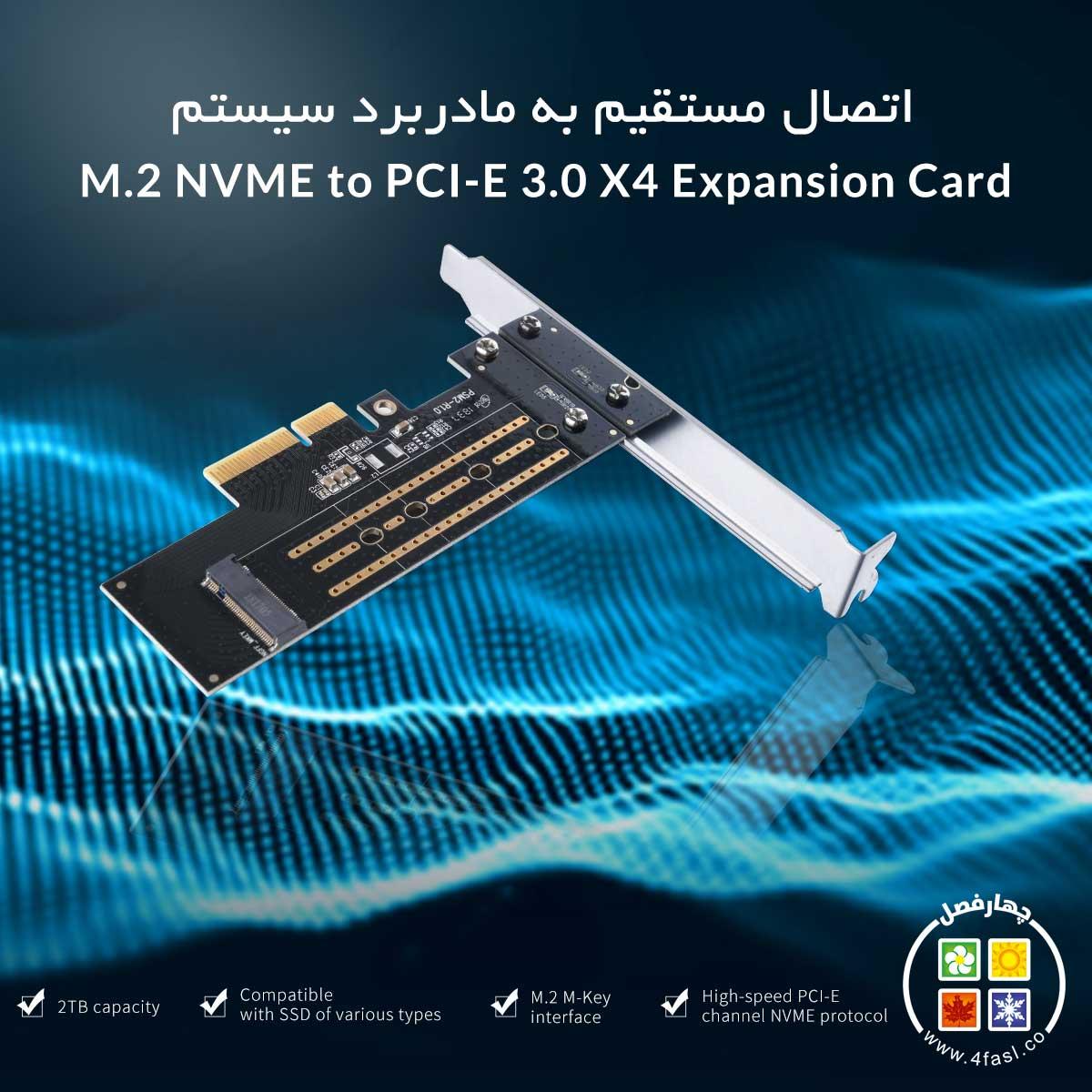 کارت M.2 NVME