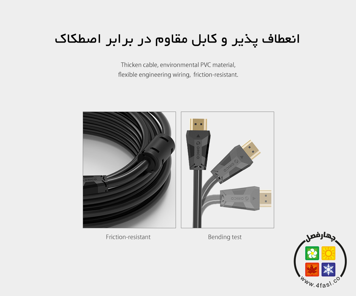 کابل HDMI نسخه 2.0
